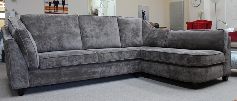 Bespoke Sofa Corner Group J Brown Dakota Velvet Peat Jpg